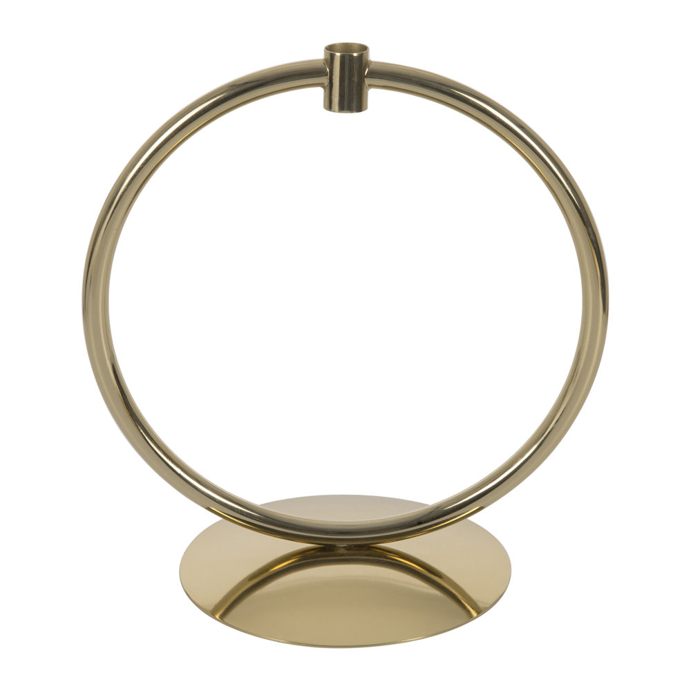 Image of A by AMARA - Hoop Candlestick - Gold