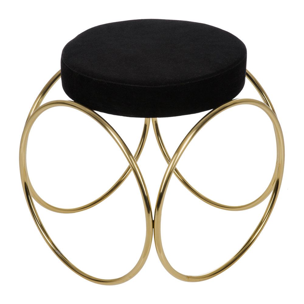 Image of A by AMARA - Velvet Hoop Stool