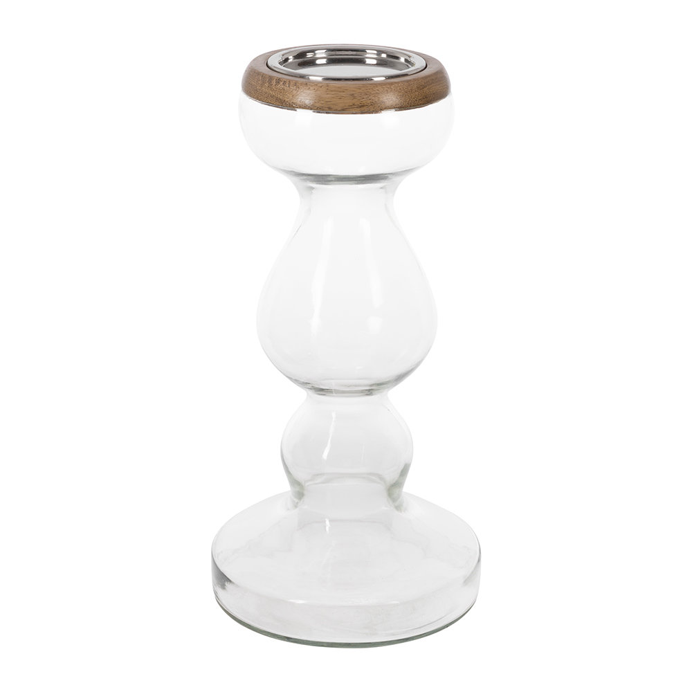 Retreat - Curve Glass Candle Stand