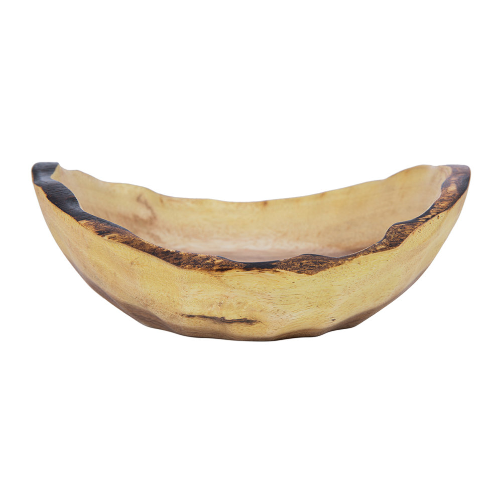 A by AMARA - Acacia Natural Wooden Bowl - Small