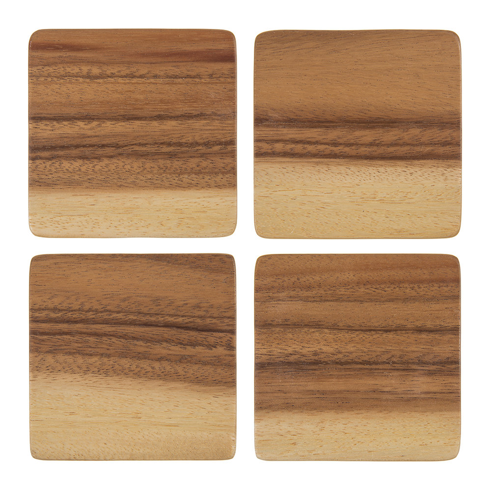 Image of A by AMARA - Acacia Wood Coasteret of 4