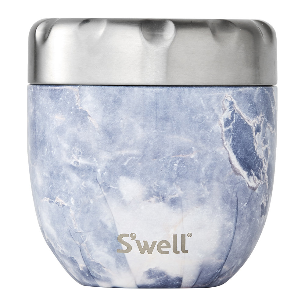 S'well - 2-in-1 Nesting Food Bowl - Blue Granite - Small