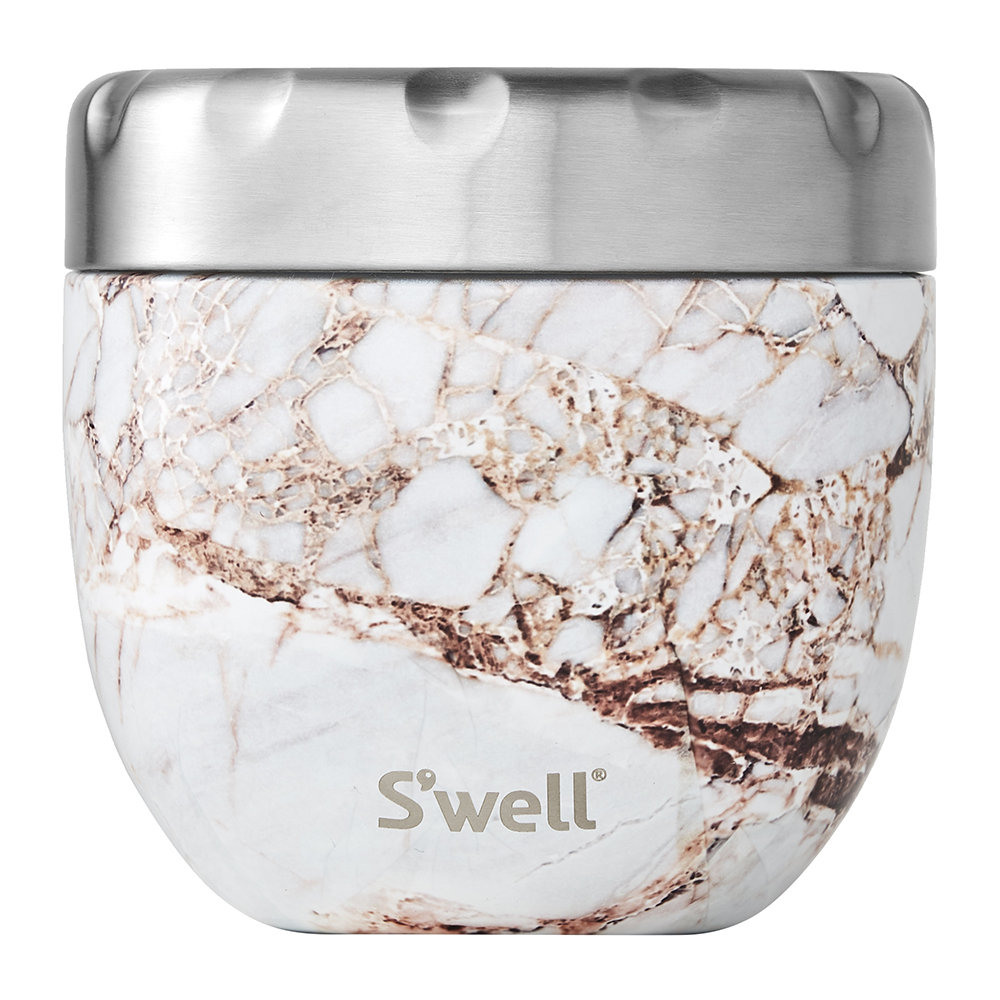 S'well - 2-in-1 Nesting Food Bowl - Calcatta Gold - Medium