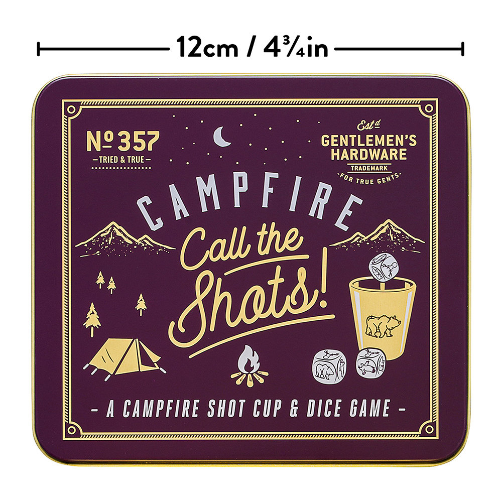 Gentlemen's Hardware - Lagerfeuer-Spiel Call The Shots