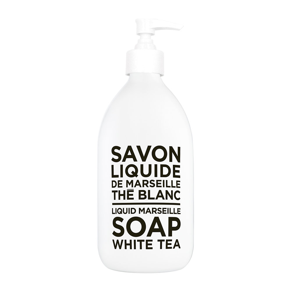 Compagnie de Provence - Black  White Liquid Soap - White Tea - 300ml