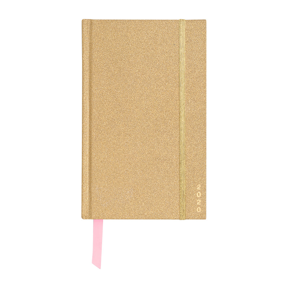 ban.do - 12 Month Classic Planner - Gold Glitter
