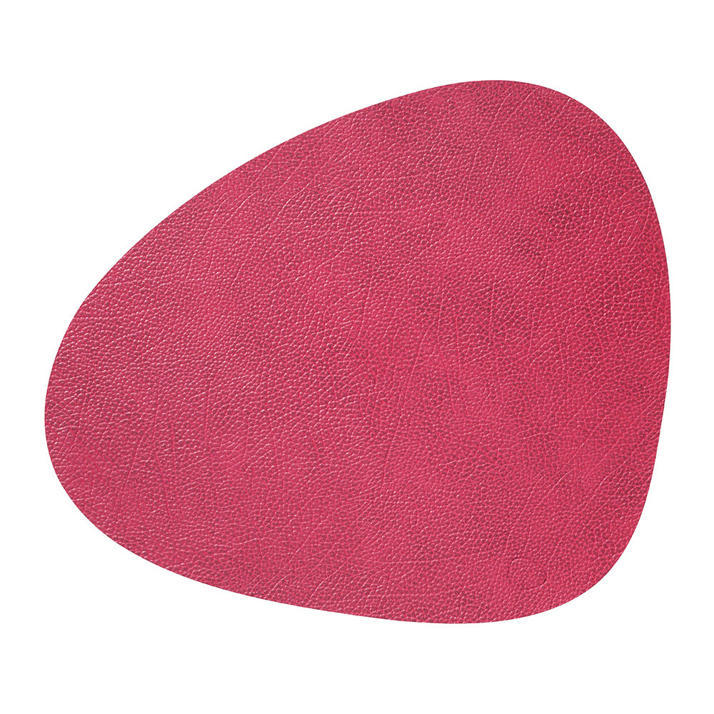 LIND DNA - Hippo Curve Table Mat - Raspberry - Large
