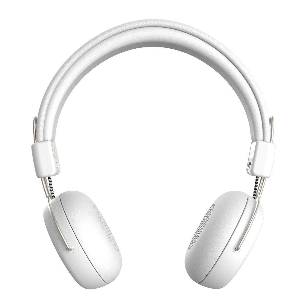 KREAFUNK - aWear Wireless Headphones - White