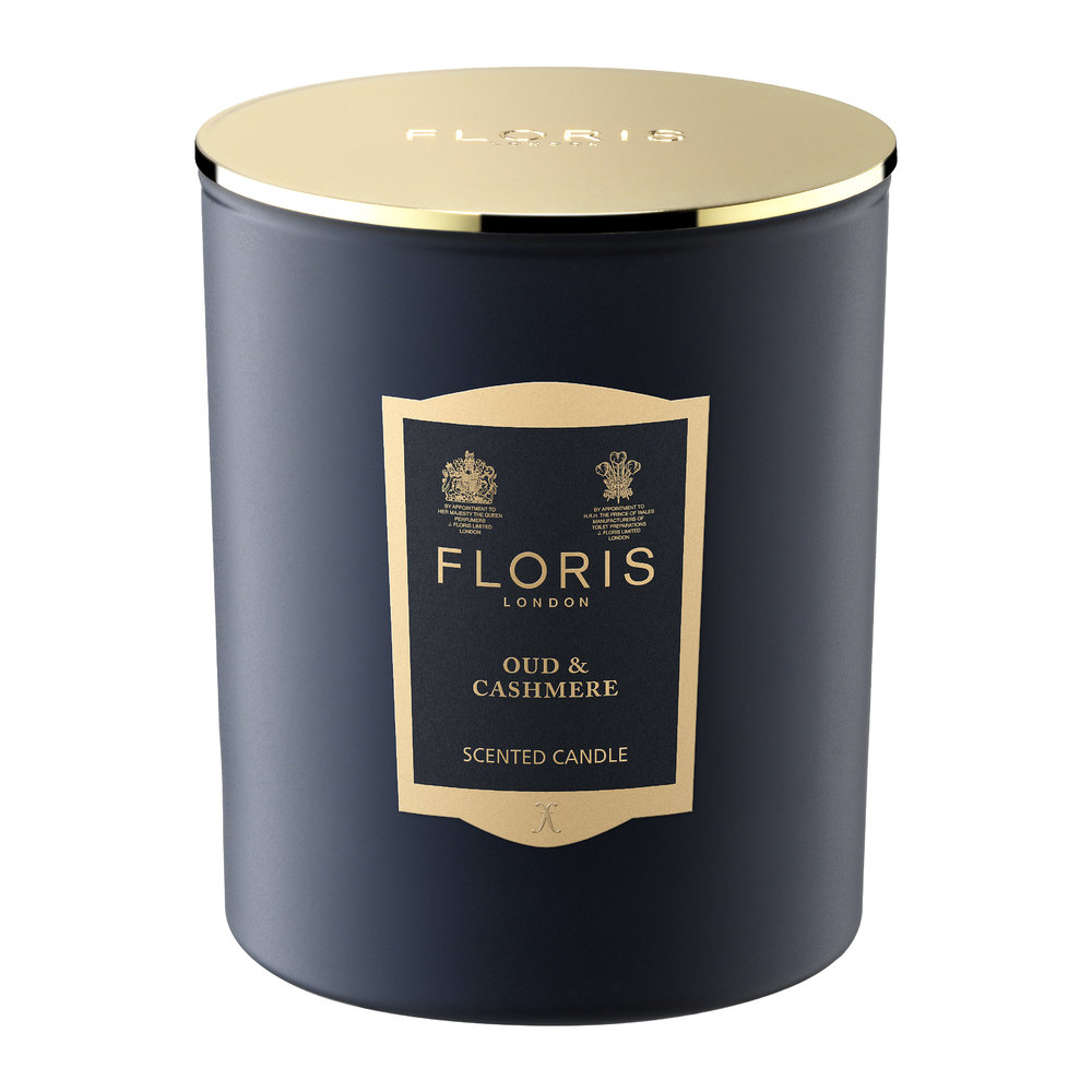 Floris London - Limited Edition Scented Candle - 200g - Oud and Cashmere