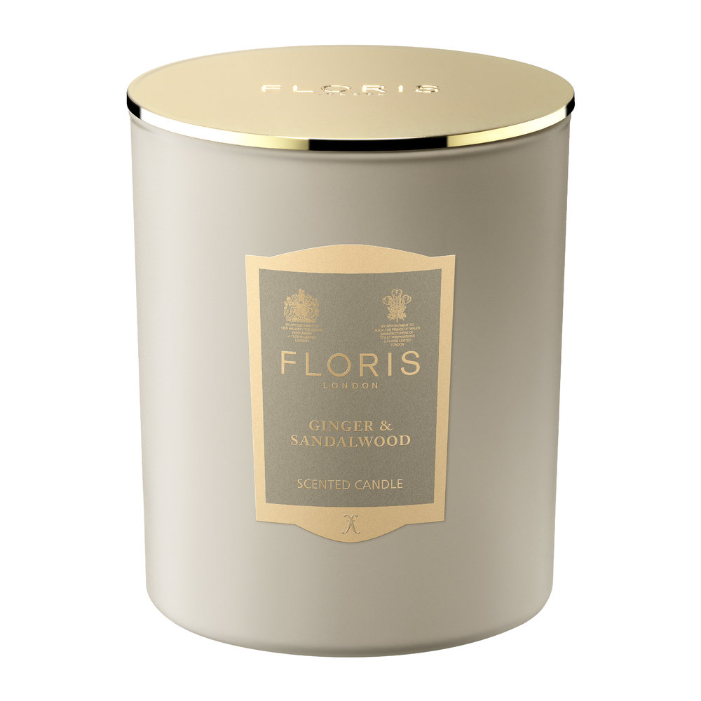 Floris London - Limited Edition Scented Candle - 200g - Ginger and Sandalwood