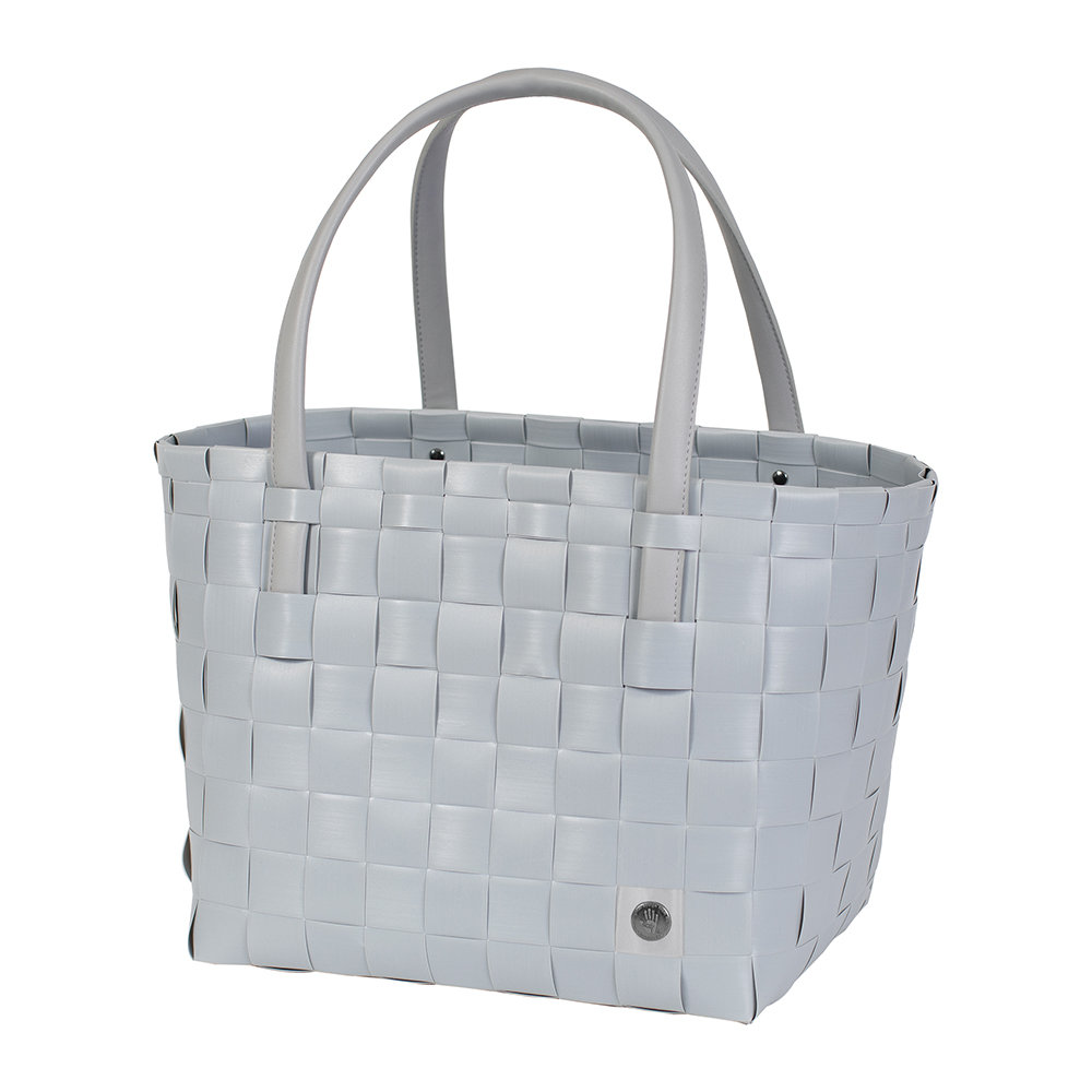 Handed By - Colour Match Shopper Bag - Steel Grey
