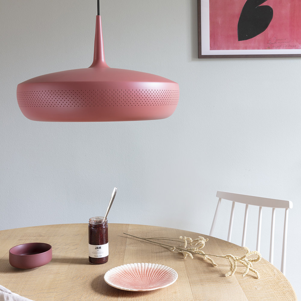 UMAGE - Clava Dine Lamp Shade - Red Earth