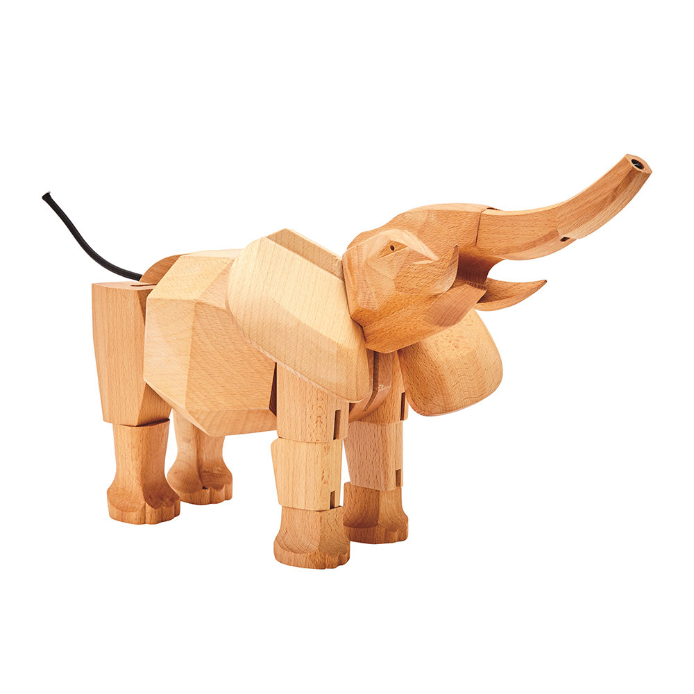 Areaware - Hattie the Elephant Wooden Toy