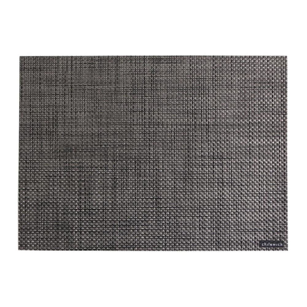 Buy Chilewich Basketweave Rectangle Placemat Carbon Amara