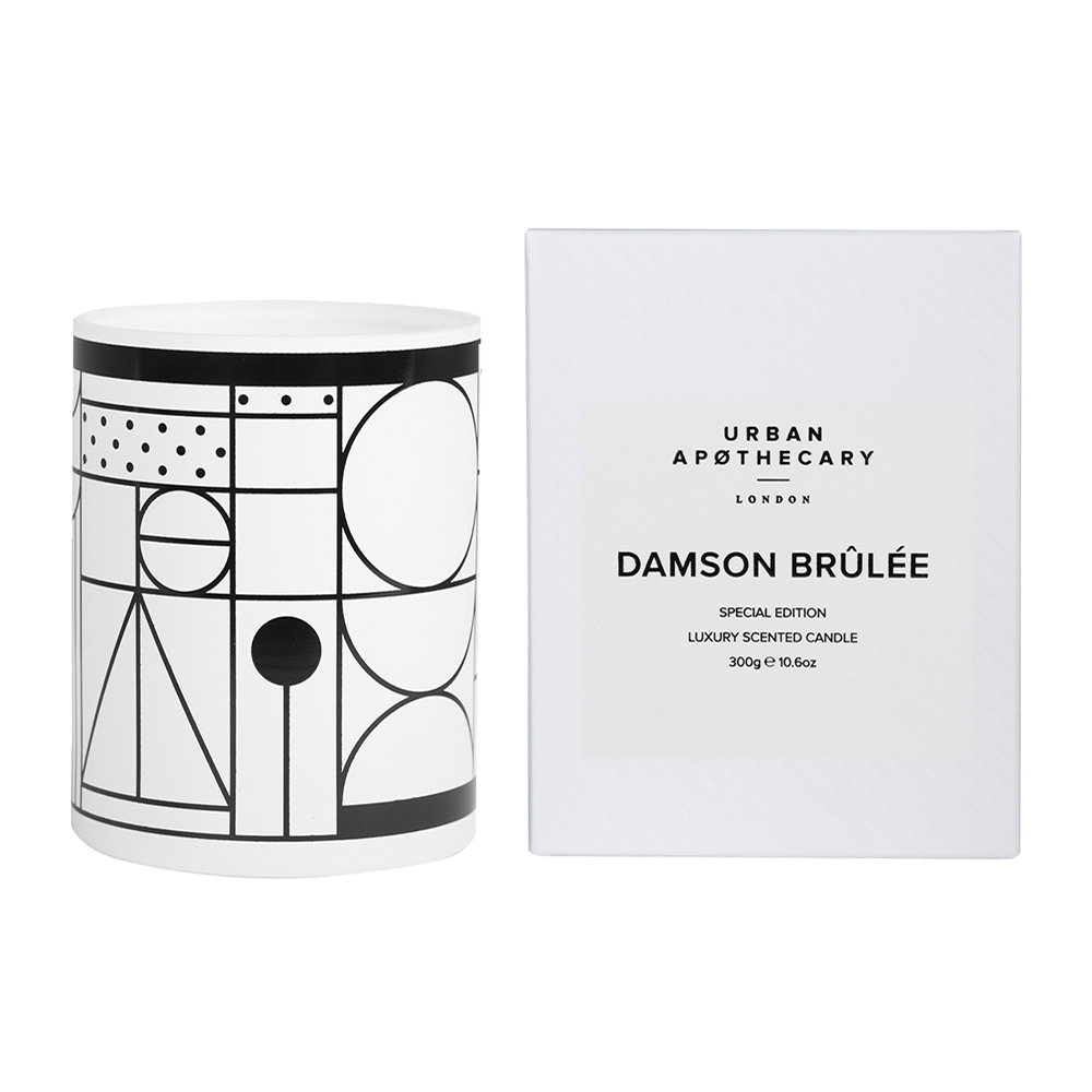 Urban Apothecary London - Special Edition Luxury Candle - 300g - Damson Brulee