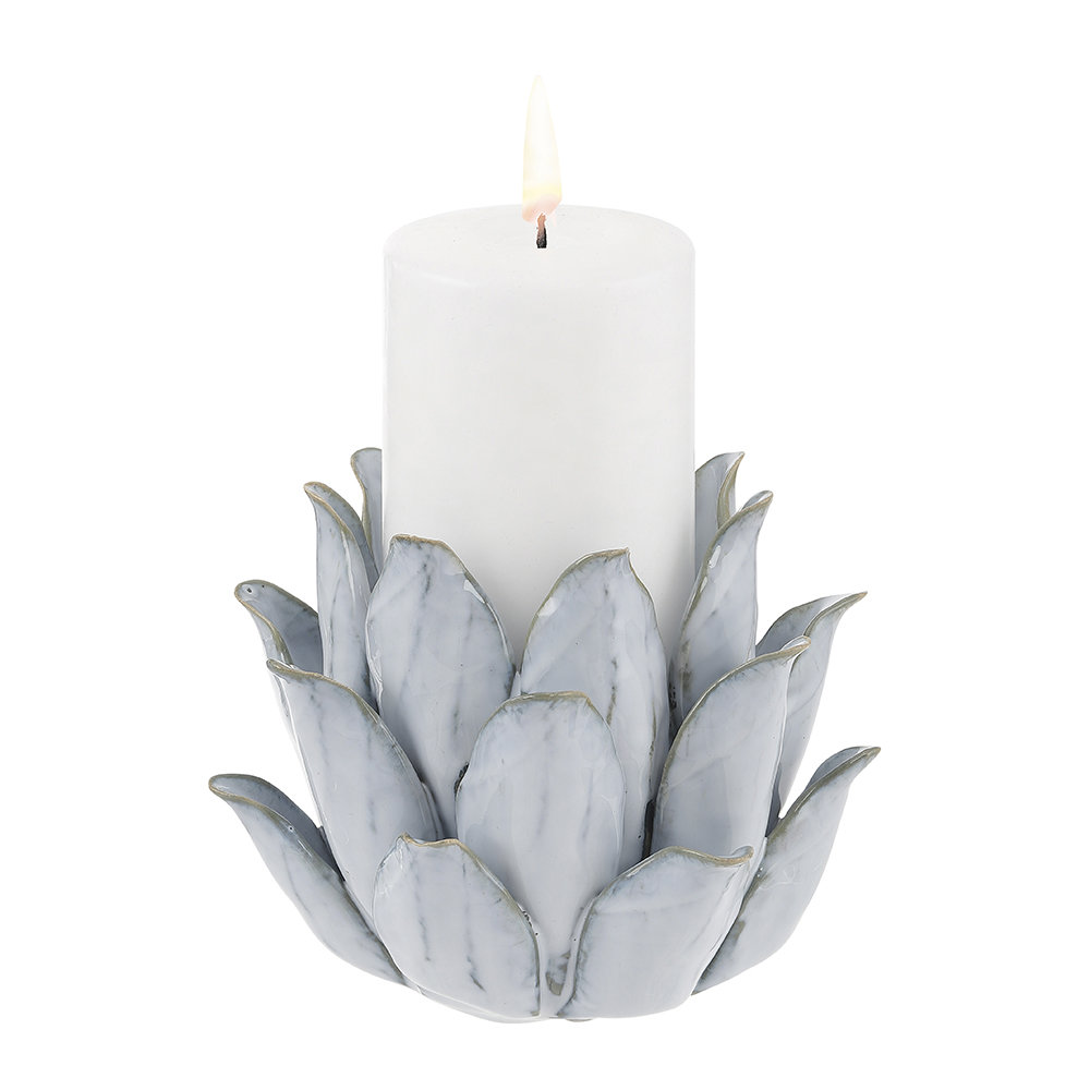 A Simple Mess - Pirna Candlestick - Grey
