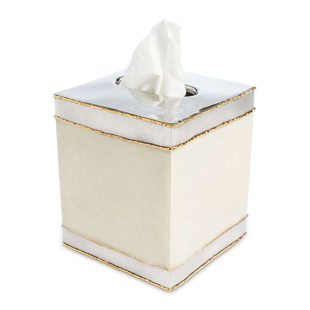 Julia Knight - Cascade Tissue Box - Cloud