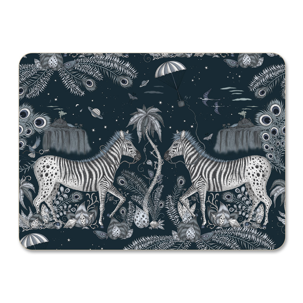 Emma J Shipley - Lost World Placemat - Navy