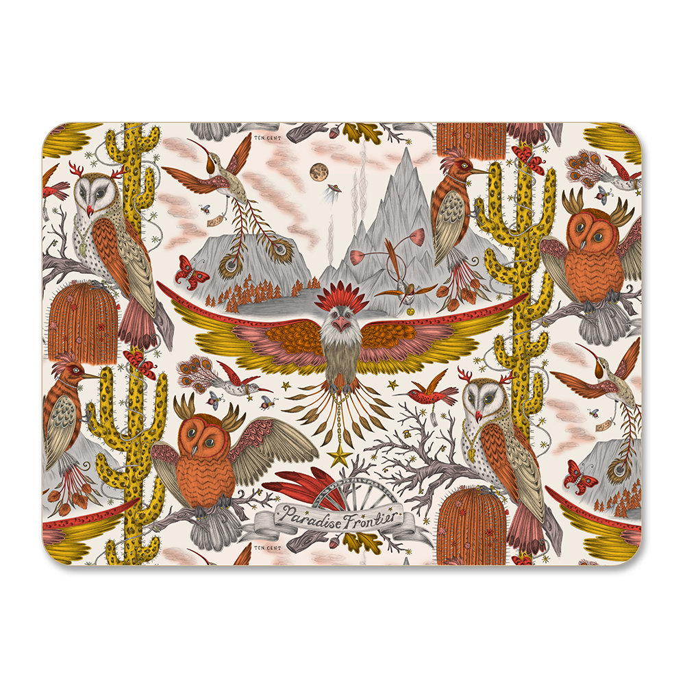 Emma J Shipley - Frontier Placemat - Gold