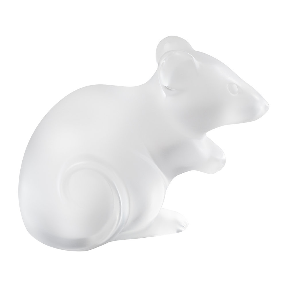 Lalique - Clear Mouse Figure