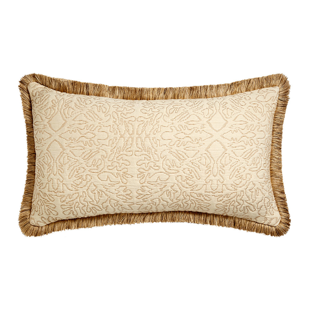 Soho Home - Adeline Oblong Cushion - Cream