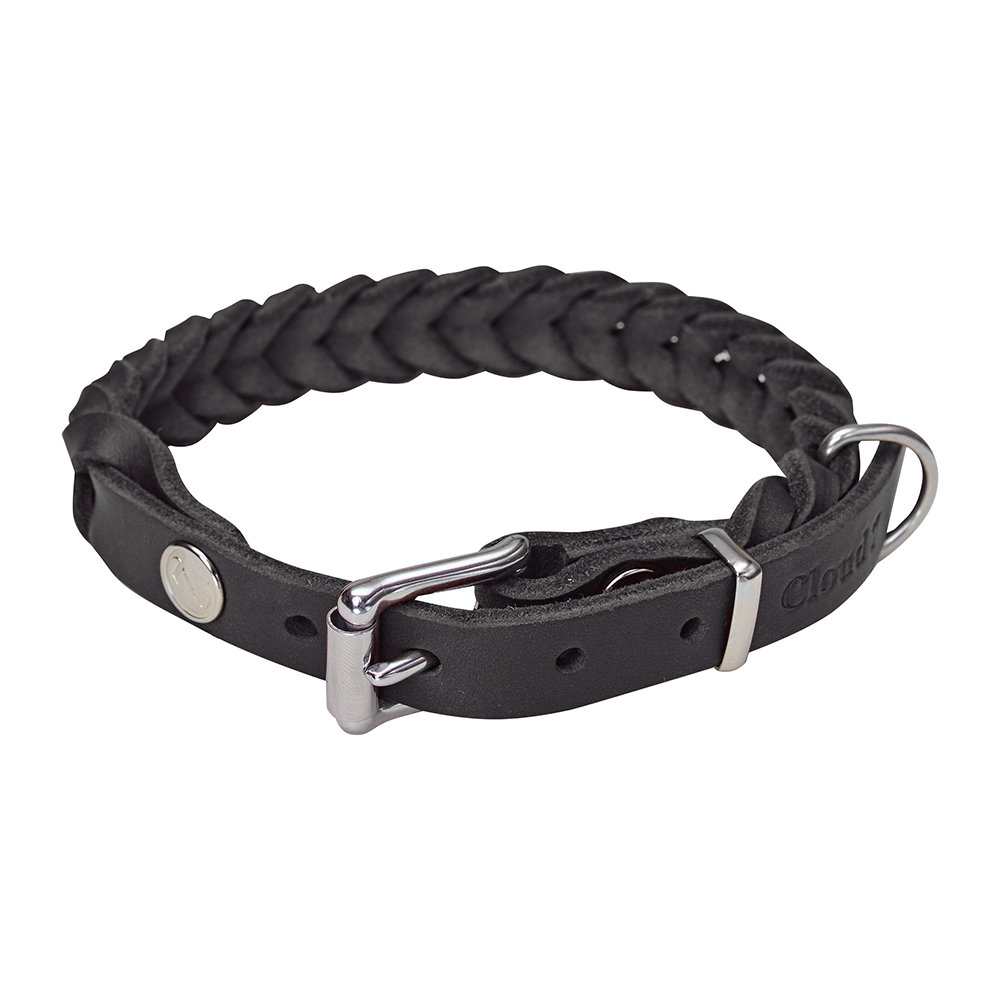 Cloud 7 - Braided Central Park Collar - Black - Large