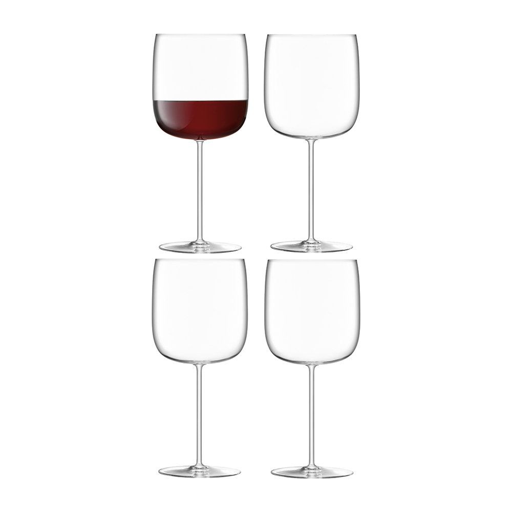 LSA International - Borough Grand Cru Glass - Set of 4 - Clear