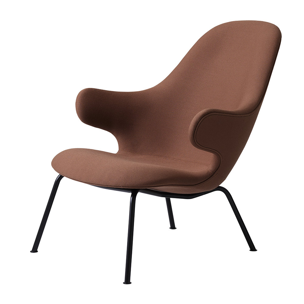 &Tradition - Catch JH14 Lounge Chair - Steelcut