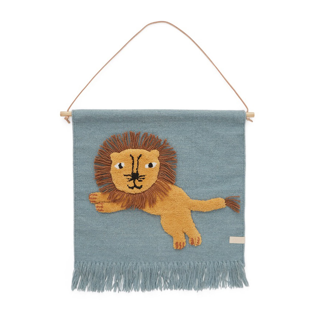 OYOY - Jumping Lion Wallhanger