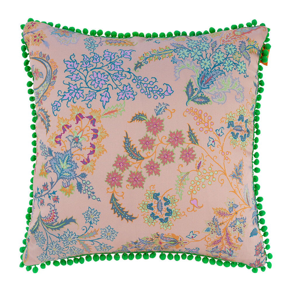 Etro - Pertuis Dorgonne Pillow with Piping - 45x45cm - Pink