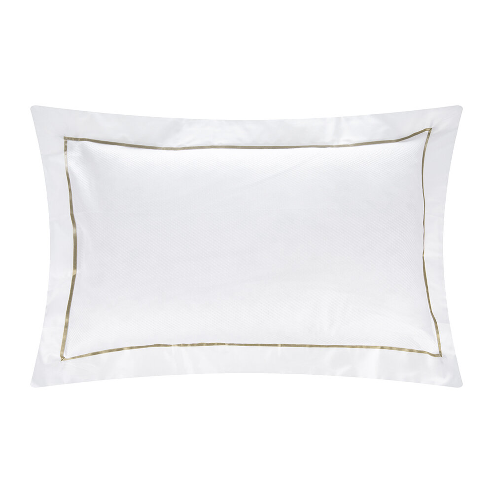 Alexandre Turpault - Alma Pillowcase - Gold - 50x75cm