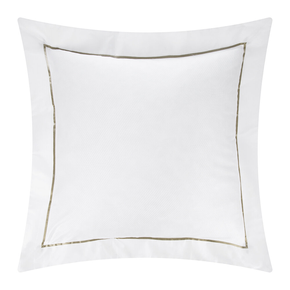 Alexandre Turpault - Alma Pillowcase - Gold - 65x65cm