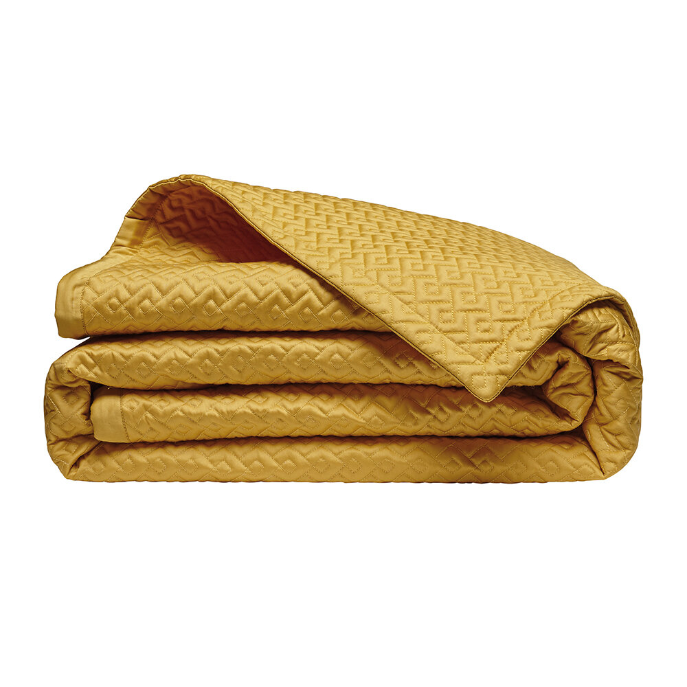Alexandre Turpault - Palace Quilted Bedspread - 260x240cm - Gold