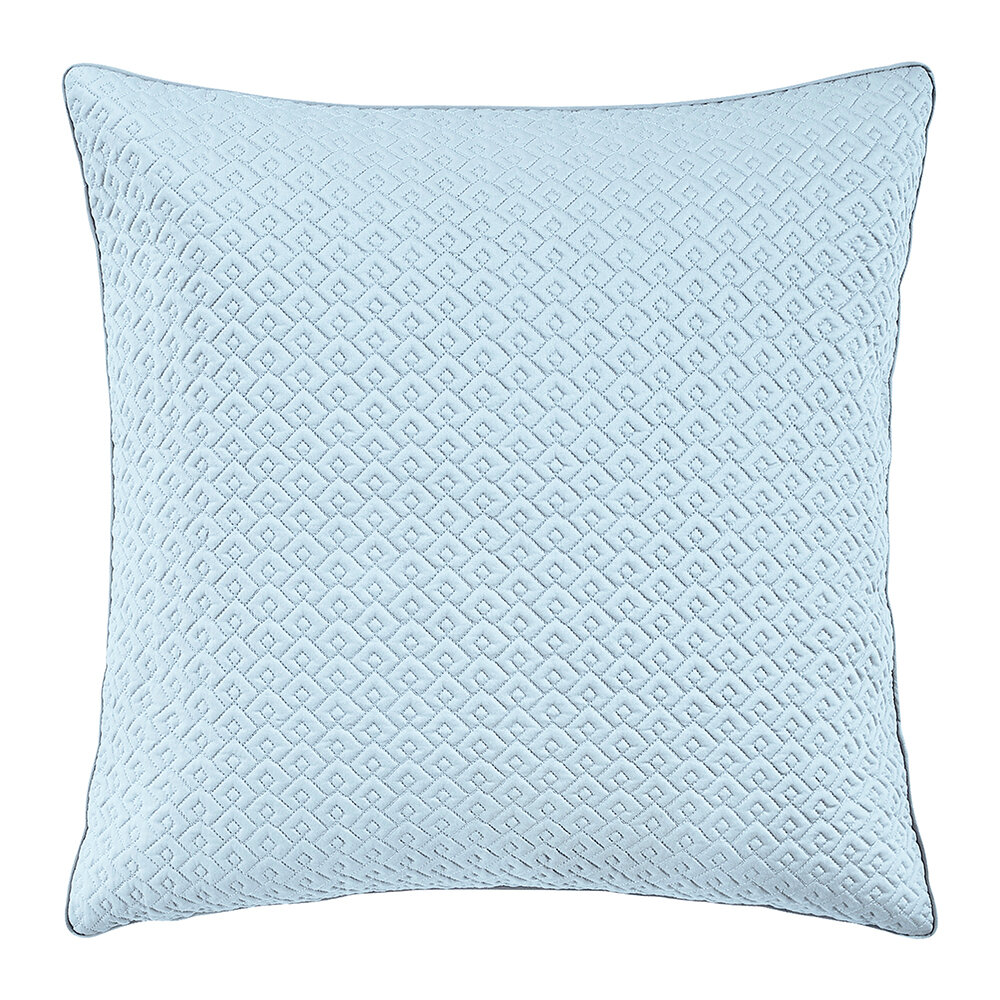 Alexandre Turpault - Palace Quilted Pillowcase - 65x65cm - Blue