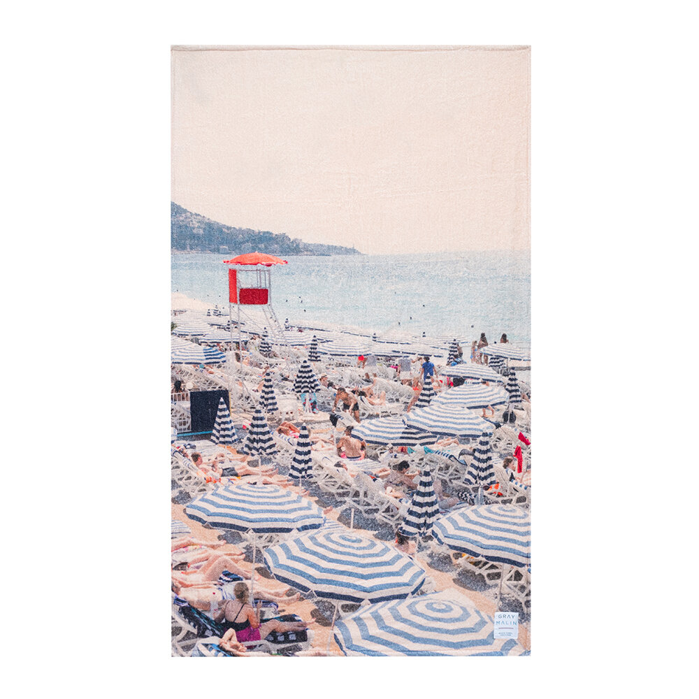 Gray Malin - The French Riviera Towel
