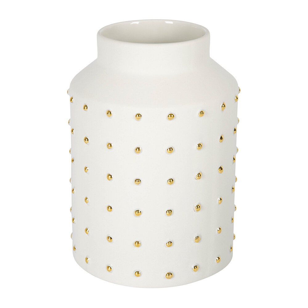 Luxe - Gold Dot Vase - Small
