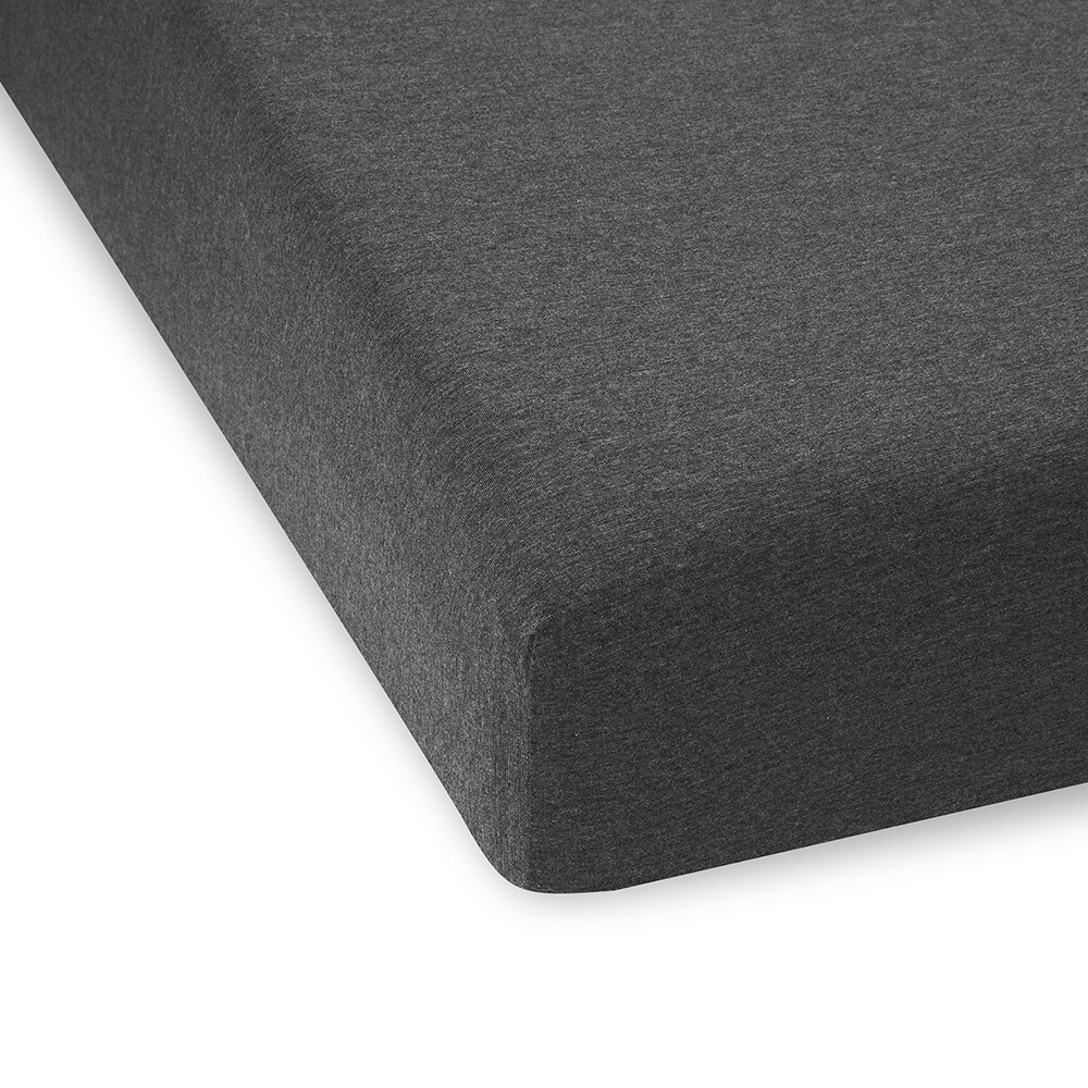 Calvin Klein - Body ID Fitted Sheet - Charcoal - Double