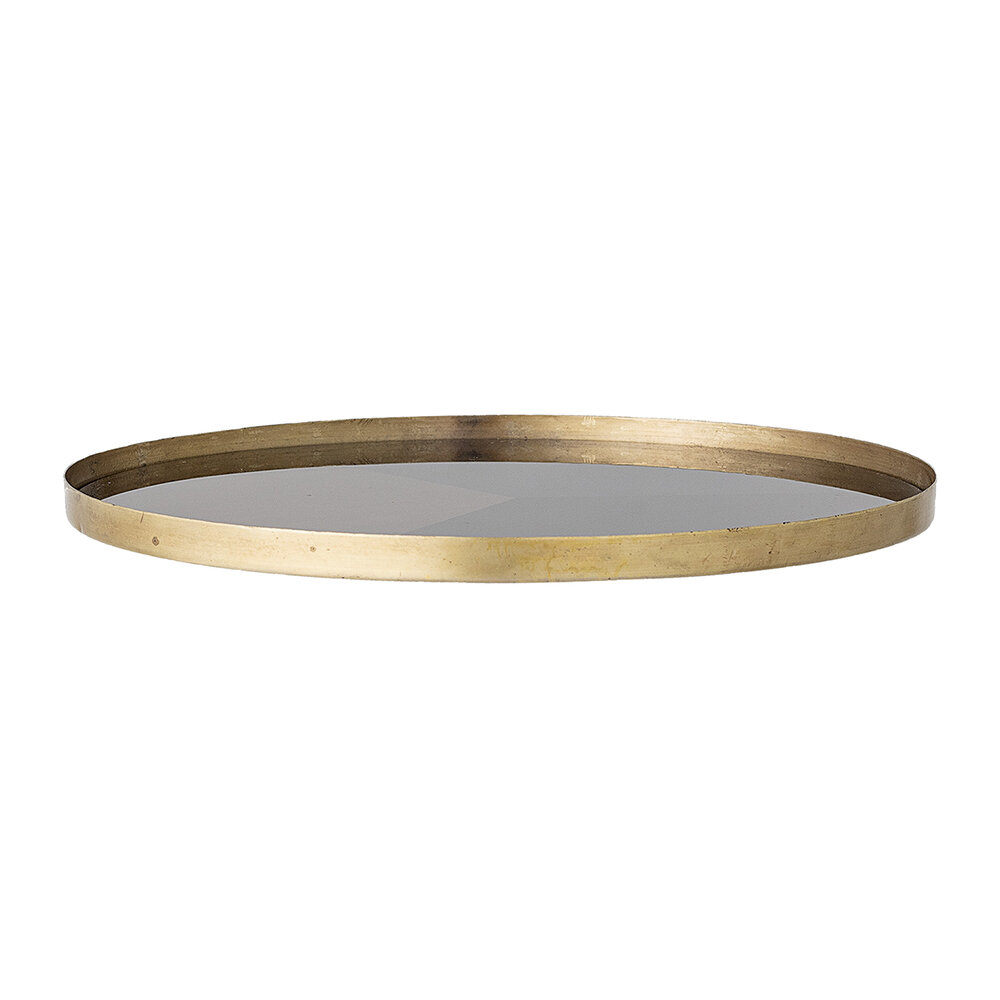 Bloomingville - Tricolor Round Tray - Multi