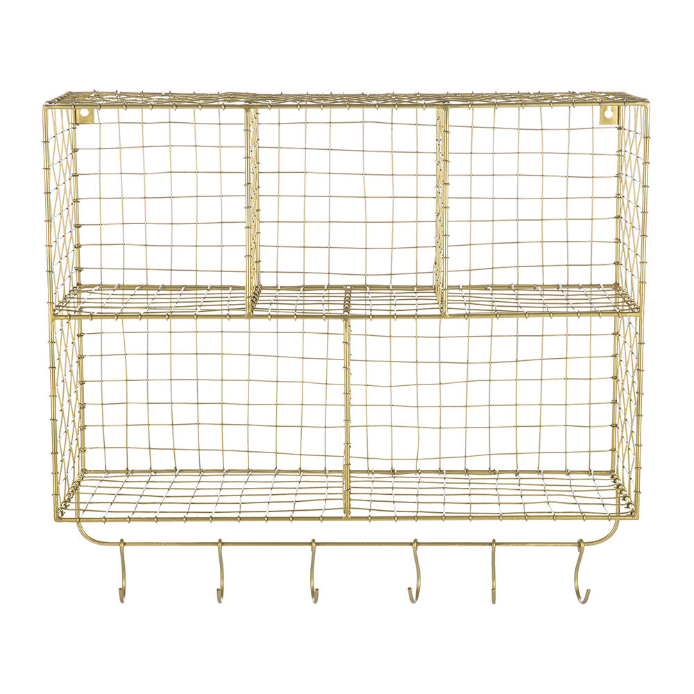 Image of A by AMARA - Wire Shelves - 2 Tier