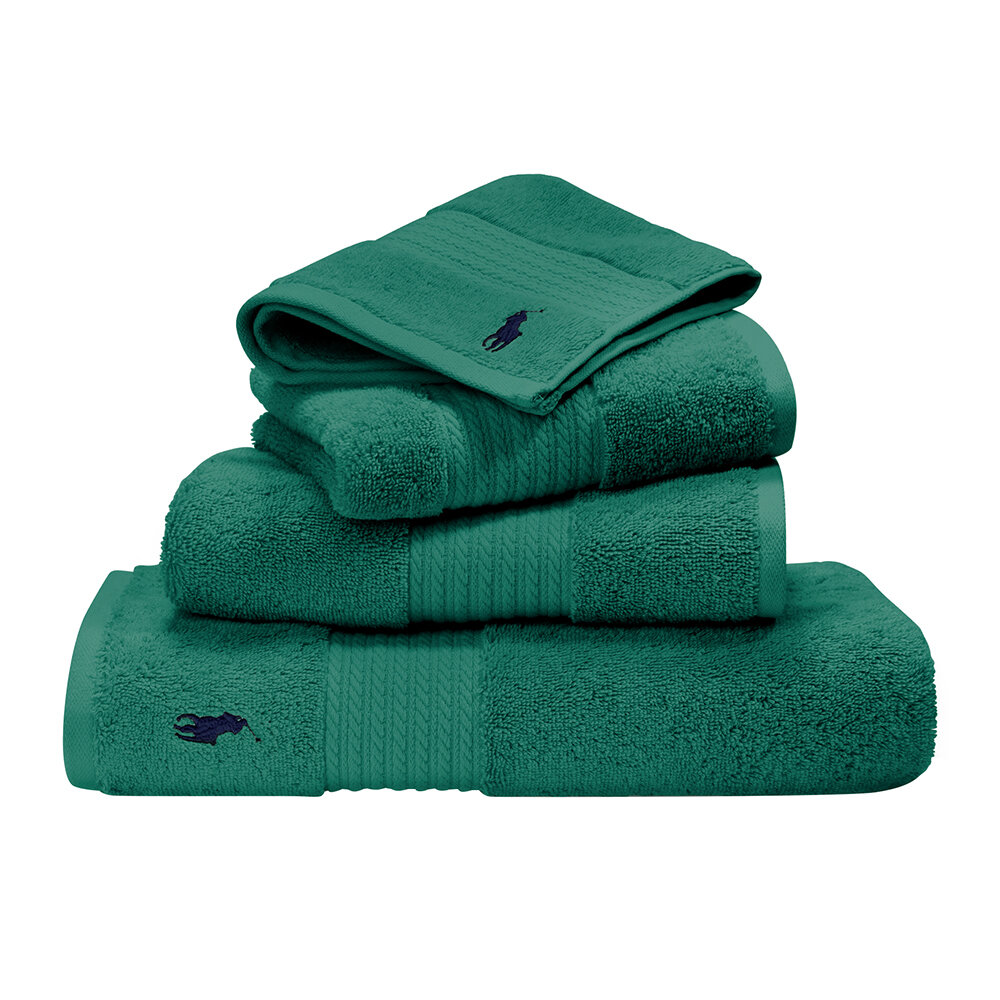 Ralph Lauren Home - Player Towel - Evergreen - Bath Towel