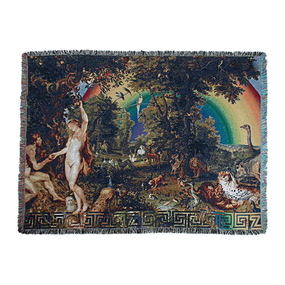 Zoeppritz since 1828 - Absurd Paradise Throw - 140x180cm