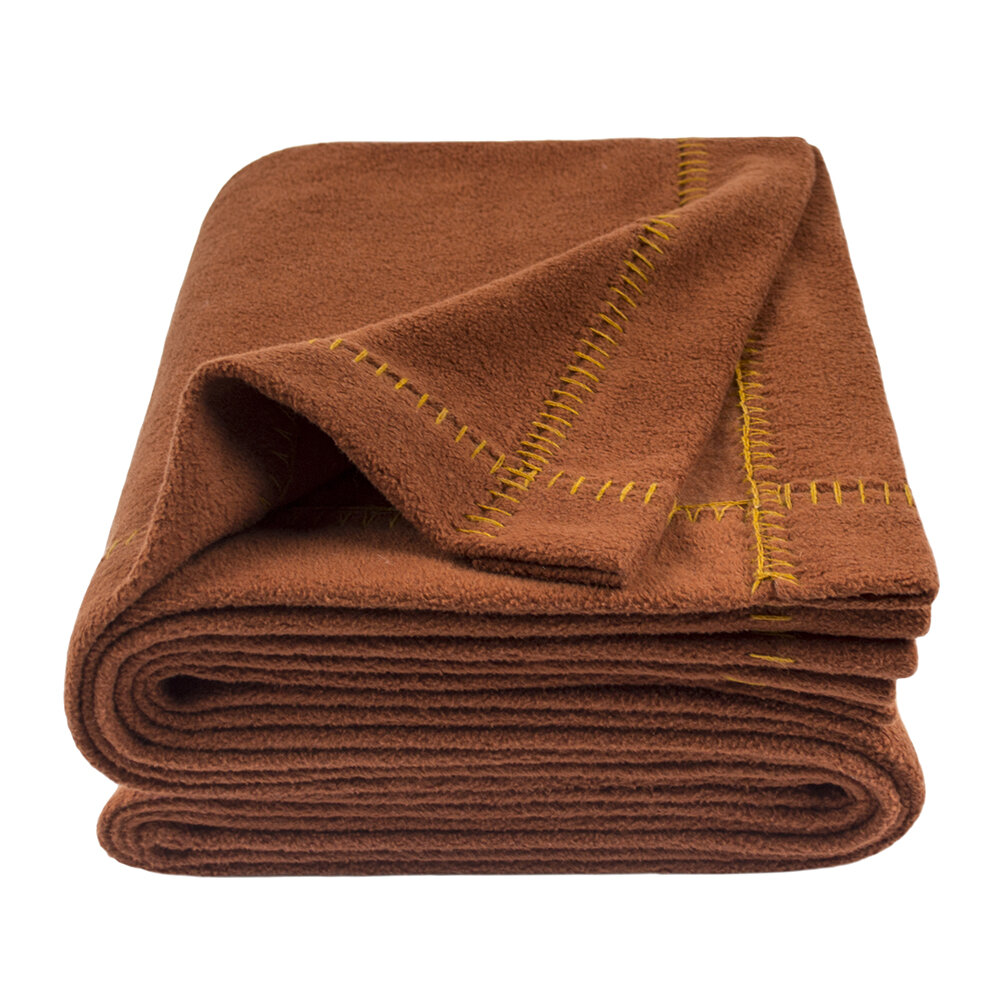 Zoeppritz since 1828 - Soft-Greeny Throw - 140x190cm - Rust