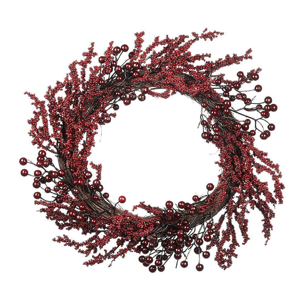 A by AMARA Christmas - Red Berry Wreath