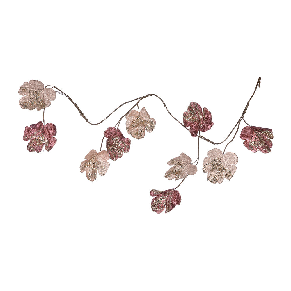 Image of A by AMARA Christmas - Artificial Sequin Leaf Garland