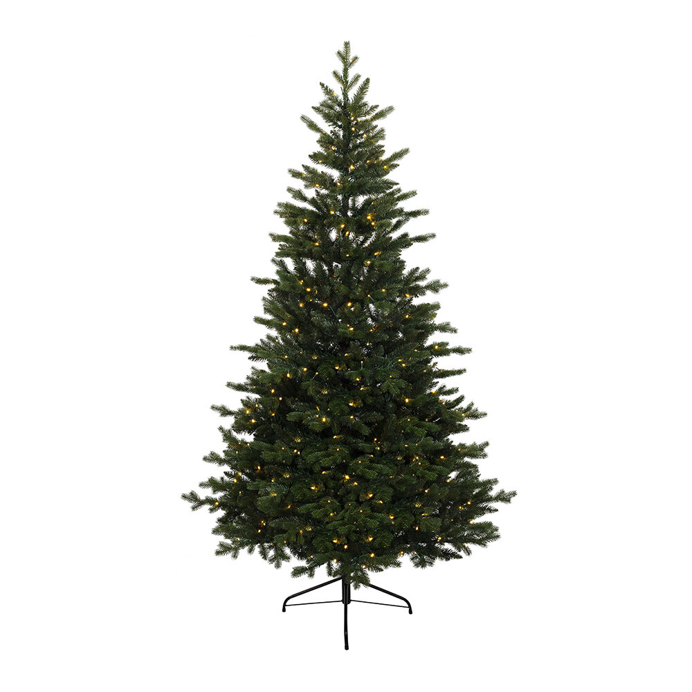 A by AMARA - Alison Pine Pre-Lit Christmas Tree - 8ft