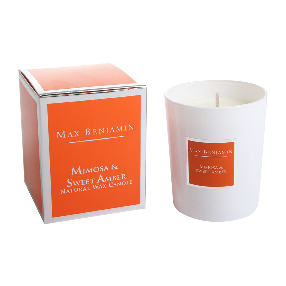 Max Benjamin - Classic Collection Scented Candle - 190g - Mimosa  Sweet Amber