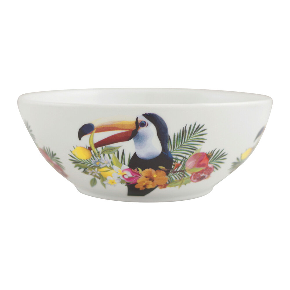 Les Ottomans - Tropical Bowl - Toucan