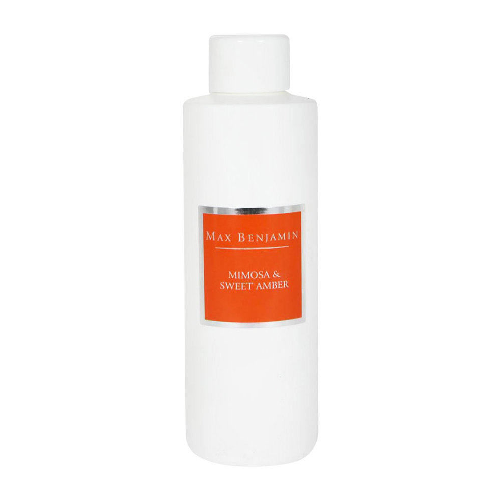 Max Benjamin - Classic Collection Reed Diffuser Refill - 150ml - Mimosa & Sweet Amber