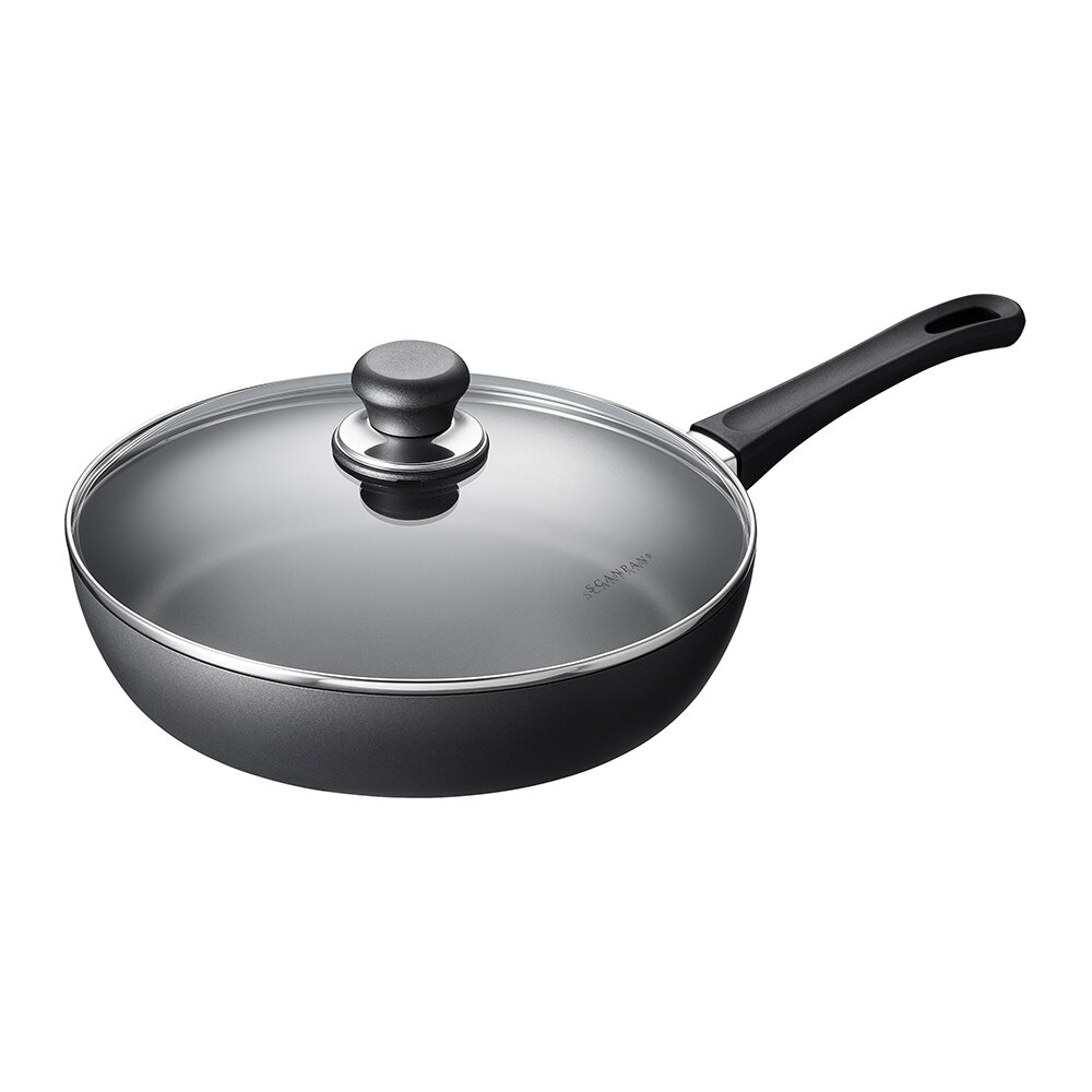 Scanpan - Classic Induction Saute Pan with Lid - 28cm