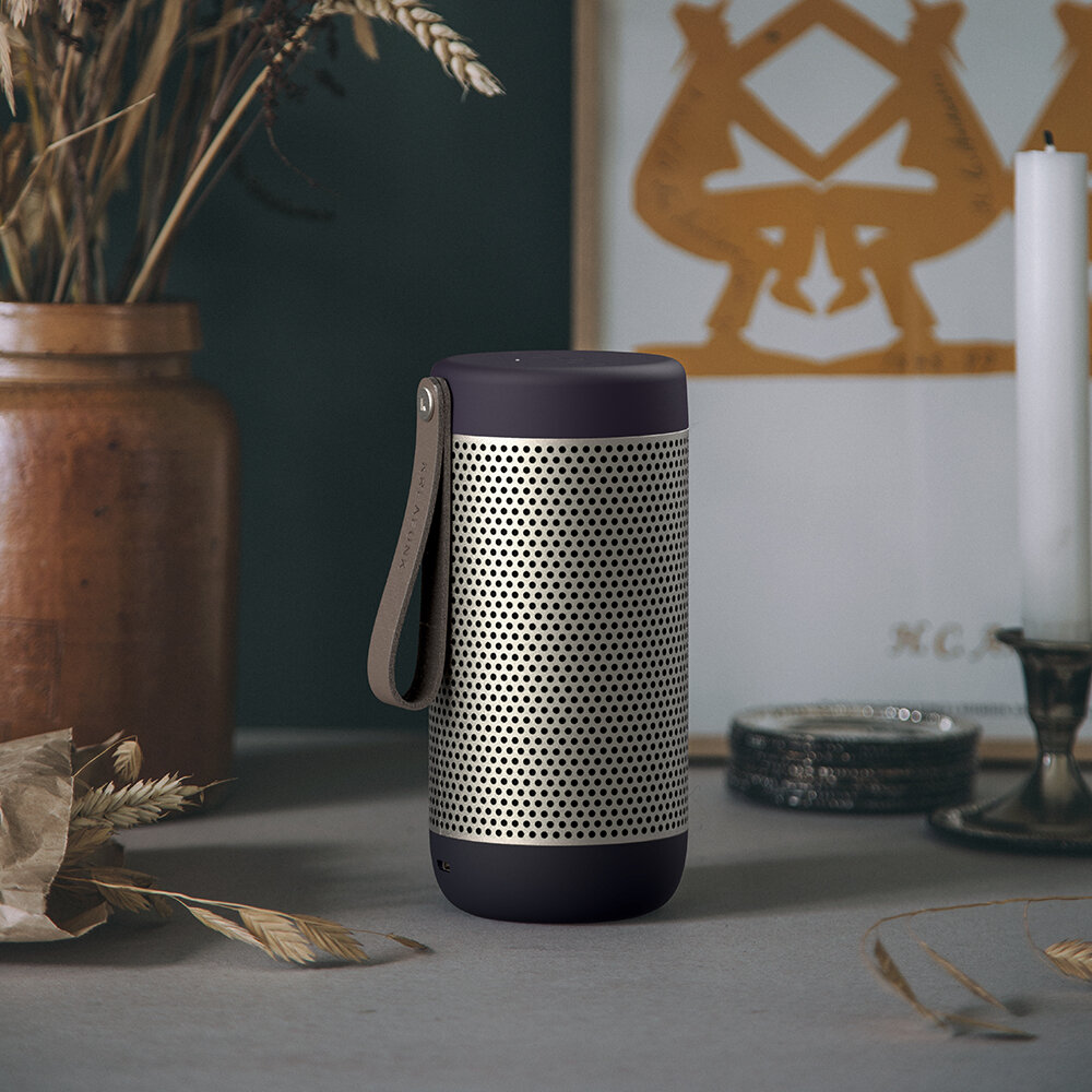 KREAFUNK - aCoustic Bluetooth Speaker - Urban Plum